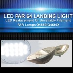 LED PAR 64 Landing Lights